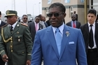 Teodoro Nguema Obiang Mangue, Minister for Agriculture and Forestry in Equatorial Guinea. Photo / Supplied