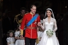 If Prince William and Kate Middleton's first child is a girl, she will eventually become queen. Photo / AP