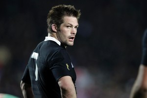 Richard McCaw has been the best All Black in his position for more than 100 tests since his 2001 debut. Photo / Dean Purcell