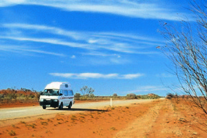 Motorhomers could spend years exploring the red continent - but five or six weeks allows for a decent taster. Photo / Tourism NT