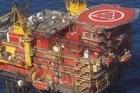 The Maui A gas platform off the coast of Taranaki. File photo / APN