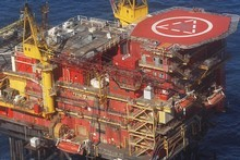 The Maui A gas platform off the coast of Taranaki. File photo / APN 