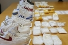Part of the $10 million worth of methamphetamine ten Malaysians tried to smuggle into New Zealand. Photo /  Greg Bowker