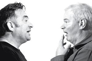 Richard Langston (left) and Roger Shepherd. Photo / Milana Radojcic