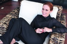 Emily Blunt, the new face of Yves Saint Laurent Opium fragrance. Photo / Supplied