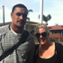 Candice met Jerome Kaino out on a coffee run in Auckland. Photo / Candice Cull