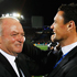 Graham Henry and Dan Carter celebrate the All Blacks' win. Photo / Getty Images
