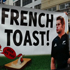 All Blacks fans have a message for France. Photo / Herald online