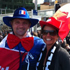 France fans get excited before the final. Photo / Scott Tucker