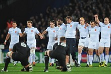 France's advance on the haka has landed the team in hot water. Photo / Getty Images