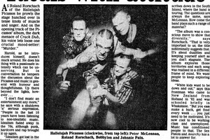 How the  Herald  saw the Picassos in 1992.
