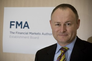 Sean Hughes, head of the Financial Markets Authority. Optimising efficiencies and leveraging. Photo / Paul Estcourt