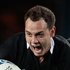 Israel Dagg tries to break through. Photo / Brett Phibbs