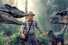 Sam Neill em Jurassic Park.  Foto / fornecido