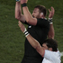 Kieran Read in action during a lineout. Photo / Richard Robinson