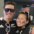 Matt Tubbs and Aileen Cheng are backing black at Eden Park. Photo / Troy Rawhiti-Forbes