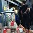 Hungry rugby fans fuel up on the way to the game. Photo / Herald online