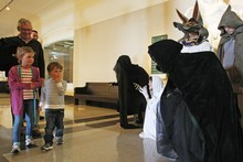 The museum's Halloween show will thrill as well as educate the whole family. Photo / Greg Bowker