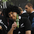 All Blacks fans show their support. Photo / Christine Cornege