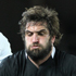All Black Sam Whitelock wins lineout ball ahead of France's Imanol Harinordoquy. Photo / Paul Estcourt