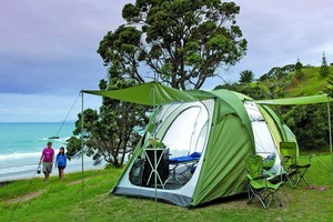 Camping gear has come on in leaps and bounds in recent years, making holidays that little bit more comfortable. Photo / Supplied