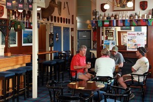 Northcote Tavern is a good, honest old-fashioned pub with great grog. Photo / Doug Sherring