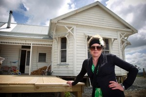 Julie Cotton says she can't see why the council has made such a big deal over her house being white, especially as there are other white houses in the area. Photo / Natalie Slade