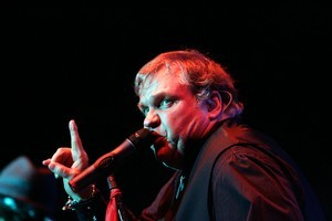 Meat Loaf plays the Vector Arena, Auckland. Photo / Herald on Sunday