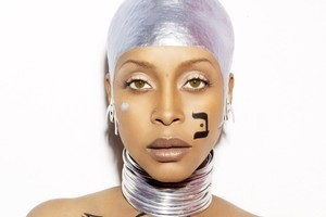 Singer Erykah Badu. Photo / Supplied