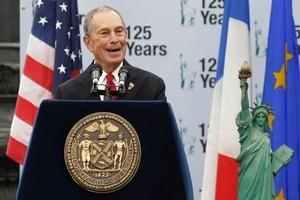 New York Mayor Michael Bloomberg. Photo / AP