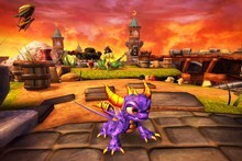 Spyro, the fire-breathing purple dragon, appears in new video game Skylanders: Spyro's Adventure. Photo / AP