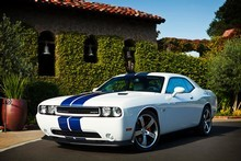 The Dodge Challenger is definitely a babe magnet. Photo / Supplied