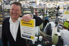 Rod Duke, managing director of retailer Briscoe Group.  File photo / Paul Estcourt
