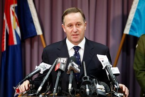 Prime Minister John Key. Photo / Janna Dixon