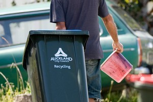 Auckland is to adopt a new waste management plan. Photo / NZ Herald