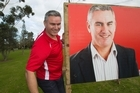 The latest poll puts Kelvin Davis seven points behind his Mana rival but he believes he still has a chance of winning the seat. Photo / Paul Estcourt.