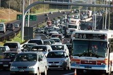 The Council for Infrastructure Development says there should be tolls of $2 to $3 on Auckland motorways. File photo / Janna Dixon