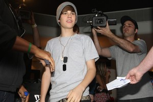 Justin Bieber. Photo / Natalie Slade