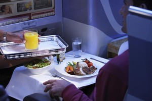 Upgrading to business class can cost more under a new tax. Photo / Supplied