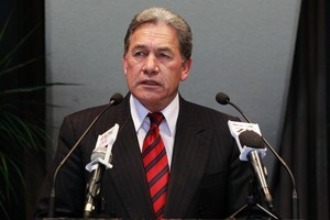 Winston Peters, leader of New Zealand First. Photo / Steven McNicholl