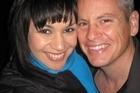 Guyon Espiner with fiancee Emma Wehipeihana. Photo / Supplied