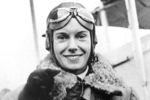 Aviator Jean Batten was awarded the missing sterling silver Blind Flying Challenge Cup three times. Photo / NZ Herald