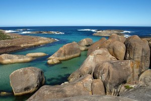 Elephant rocks on the Bibbulmun Track, Western Australia. Photo / Pamela Wade