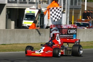 Ken Smith will be the man to beat when he defends his F5000  title. Photo / File