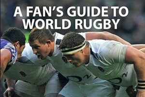 Book cover of A Fan's Guide To World Rugby. Photo / Supplied