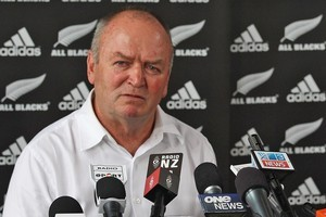 Graham Henry announces he's stepping down as All Blacks coach. Photo / Getty Images
