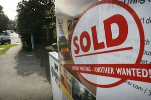Asking prices for New Zealand properties hit an all time high last month, while new listings slumped. Photo / Greg Bowker