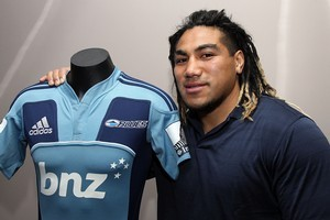 Ma'a Nonu will play for the Blues in 2012. Photo / Getty Images