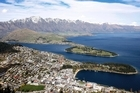 Queenstown and Southern Lakes is eighth on Lonely Planet's list of the best regions to visit in 2012. Photo / Sarah Ivey