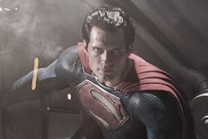 Henry Cavill has beefed up as the Man of Steel. Photo / Supplied
